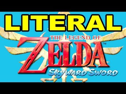 LITERAL Legend of Zelda Skyward Sword Trailer