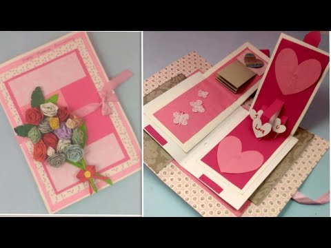 Anniversary Card for Parents/Husband,DIY Handmade Greeting Cards for Anniversary,3D Pop Up Love Card