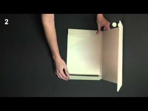 Carpeta de cartón - Vídeo de montaje ref. 0051 SelfPackaging
