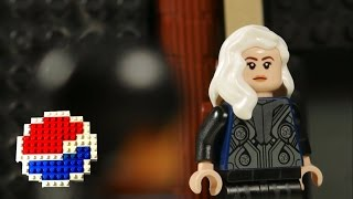Kendall Jenner PEPSI Ad in LEGO