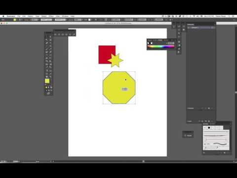 Basic layers and opacity Illustrator #3
