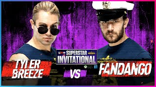 TYLER BREEZE vs. FANDANGO: Rd. 1 - WWE 2K18 Superstar Invitational Tournament