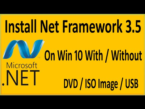 How To Install  .Net Framework 3.5 Offline On Windows 10 Without CD / DVD /ISO / Bootable USB