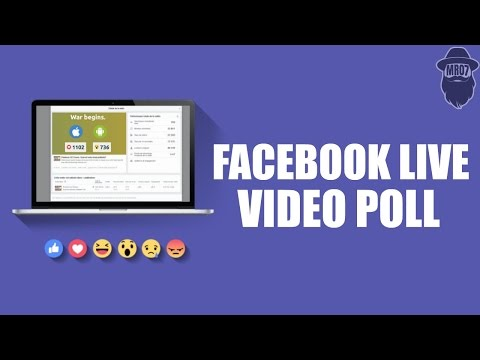 How to Create Facebook Live Reactions Poll for Free?
