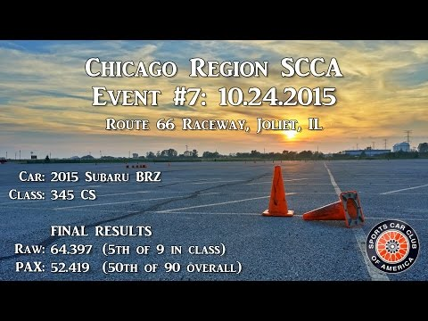 10.24.2015 - Route 66 Autocross (Day 1)