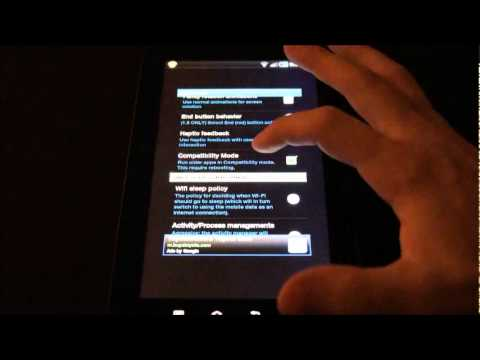 How To: Force the Galaxy Tab to Display Apps in Fullscreen Mode