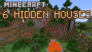 6 Hidden Houses in Minecraft