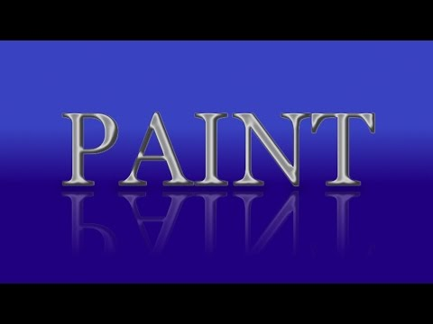 Chrome Text Effect in Paint.net