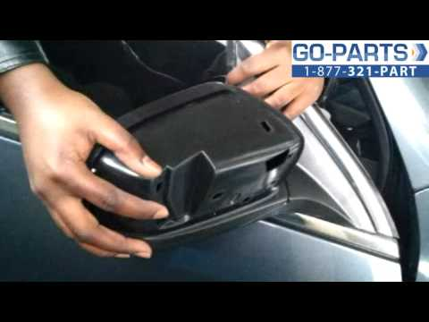 Replace 2003-2007 Honda Accord Side Rear View Mirror , How to Change Install 2004 2005 2006