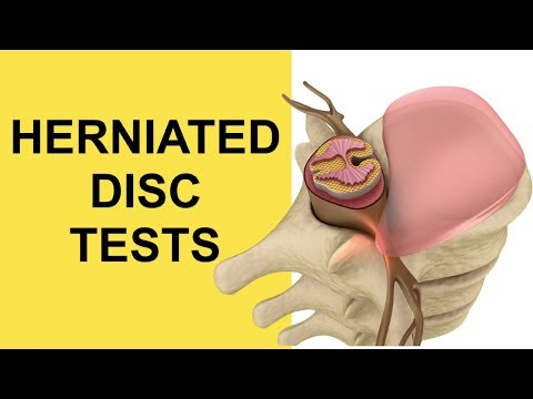 Sciatica Causes: Herniated Disc Tests For Lower Back Pain