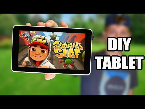Building a DIY Touchscreen Tablet