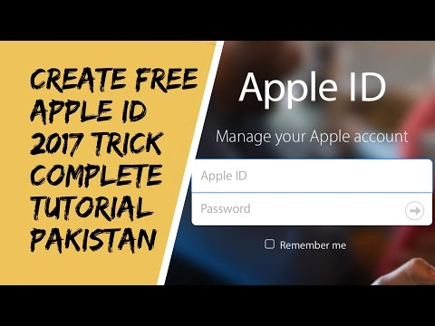 How to Create Apple id Without Credit Card in Pakistan 2017   Urdu Hindi