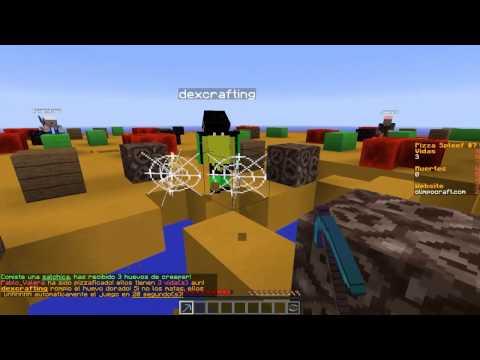 Por fin gano!! Minecraft Mini-Juego Olimpocraft | Pizza and Cake Spleef