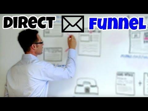 Cody Sperber's Real Estate Investing 101 Direct Mail Funnel