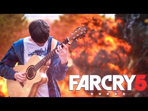 Far Cry 5 Soundtrack Medley on Guitar