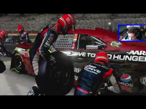 NASCAR The Game: Inside Line - Race 31/36 - Bank of America 500