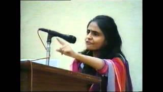 Allama Iqbal Shield Urdu Debate Competition 2011 2nd Prize winner (Miss.Huda).