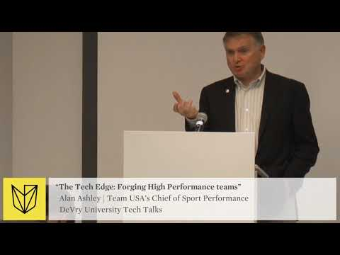 DeVry University Tech Talk: USOC Team USA - Forging High Performance Teams - VR Use In Sports