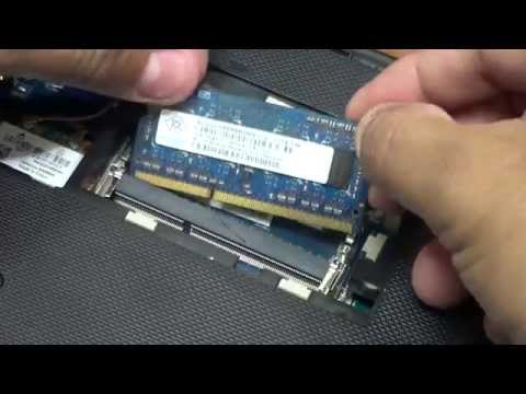 Laptop - How to Install, Add,  Upgrade RAM (Memory)