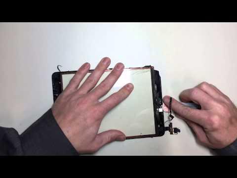 iPad Mini 3 glass repair Time-Lapse