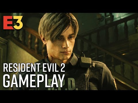 20 Minutes of Resident Evil 2 Gameplay - No Commentary | E3 2018