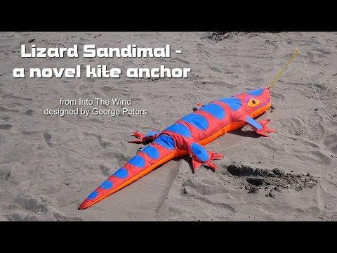 Lizard Sandimal kite anchor