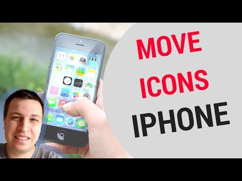 Move icons on iPhone!
