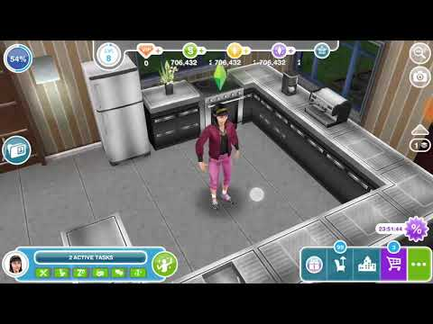 Make a double shot of coffe - the Sims freeplay 😸