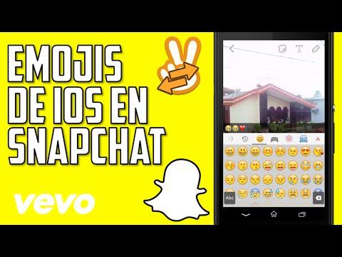 Como tener los Emojis de iPhone/iOS en tu Android y Snapchat (Root) - Andrés Almeida