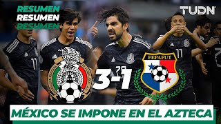 Resumen y goles   México 3 - 1 Panamá   Liga de Naciones Concacaf - 2019  - Jornada 1   TUDN