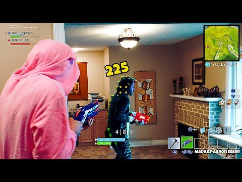 NERF GUN GAME FROM AARON ESSER - YouTube