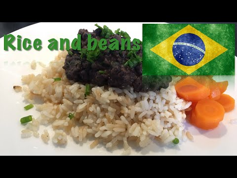 How to cook Rice and Beans (The Brazilian dish)