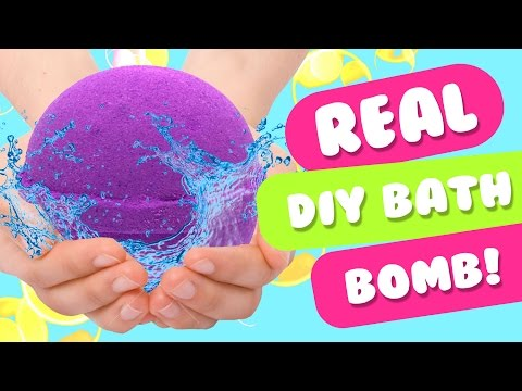 REAL & EASIEST DIY Bath Bomb With Citric Acid | Lush Homemade Bath Bombs