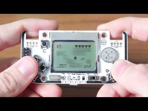 Gamebuino, an Arduino game console - Preview