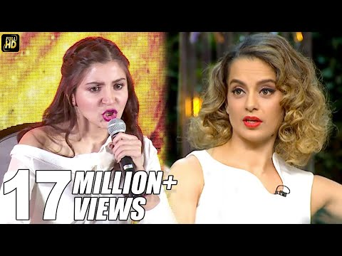 Xxx Mp4 Anushka Sharma S BEST Reply To Kangana S Nepotism Comment On Koffee With Karan Season 5 3gp Sex