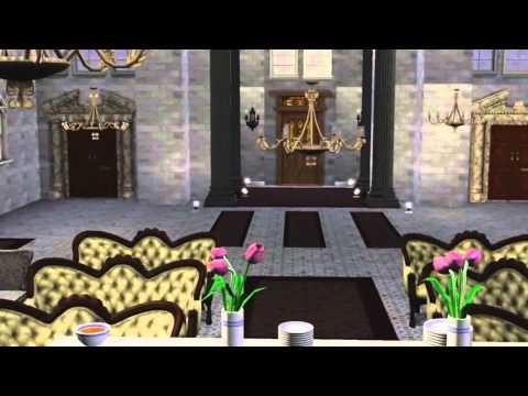 Sims 3 Goth(?) Mansion