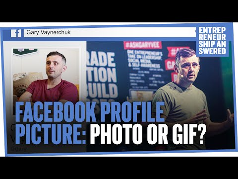 Facebook Profile Picture: Photo or GIF?