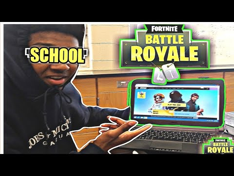 How To Get FORTNITE On A School Computer!