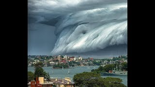 पूरी दुनिया पानी के तूफान से इस तरह खत्म हो जाएगी।