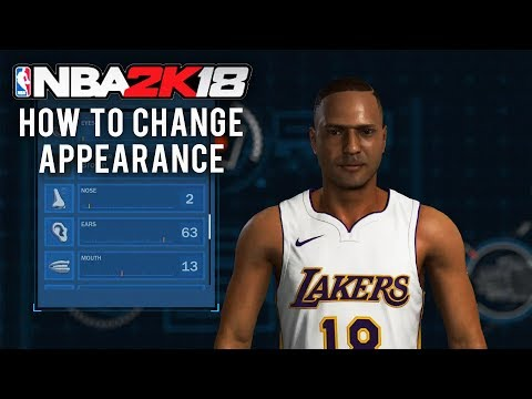 NBA 2K18 - How to Change Appearance and Shooting Styles (Where to switch MyPlayer/Character)