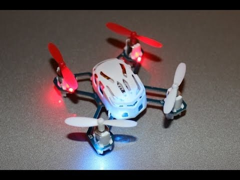 Flips and rolls with the Hubsan Q4 Nano Quadcopter