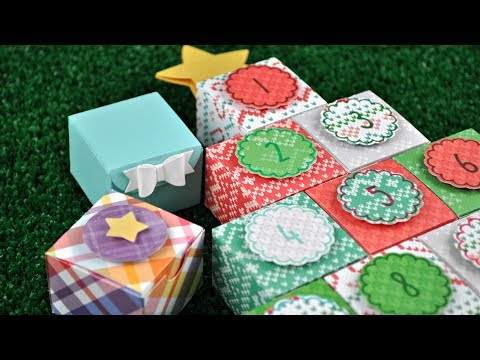 Intro to Tiny Gift Box; Celebration Countdown + an Advent calendar from start to finish