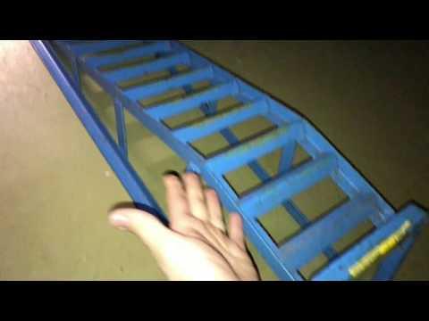 How to use Car Lift Service Ramps Vehicle Ramp rear Version Suzuki Swift DIY