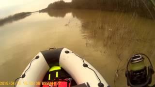 лодка пвх и мотор хидея 9.9 видео