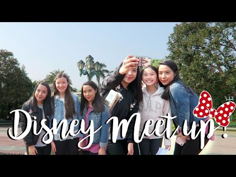 DISNEYLAND MEET UP! (Hong Kong Vlog)