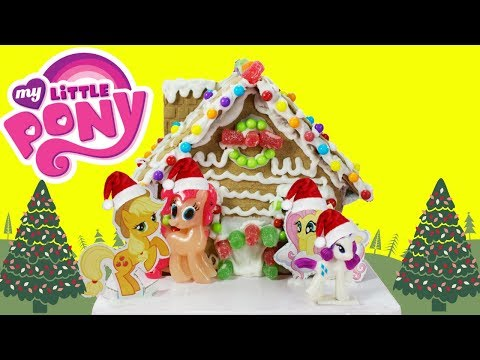 MY LITTLE PONY Gingerbread House Kit DIY Holiday Fun