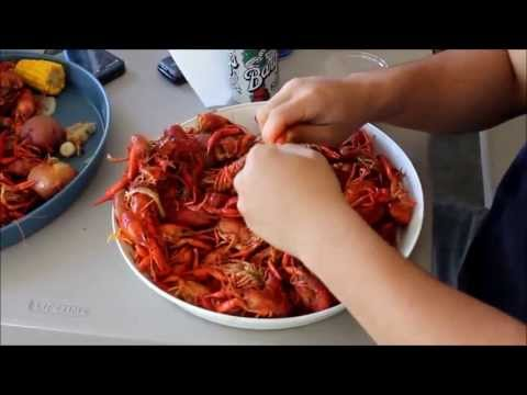 How to boil crawfish Louisiana style