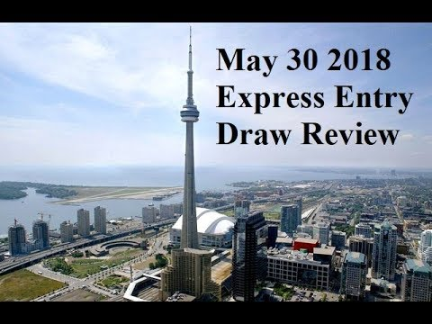 May 30 2018 Express Entry Draw Review Immigration to Canada Visa