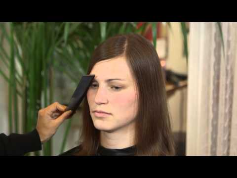 How to Cut a Bang With a Thin Hairline : Styling Thin & Damaged Hair