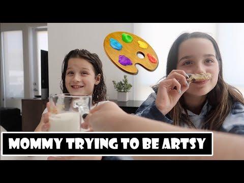 Mommy Trying to be Artsy 🎨 (WK 377.6)   Bratayley